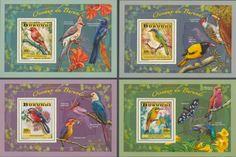 BUR 14104 bBirds Postage Stamps, Birds, Frame, Prints, Decor, Picture Frame, Decoration, Bird, Frames