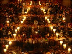 Ofrenda de día de Muertos // y no puede faltar una buena botella de #TequilaOmega