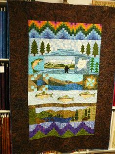 Wyoming's 1st Row by Row winner for 2015.  The Quilted Corner, Cheyenne, Wyoming