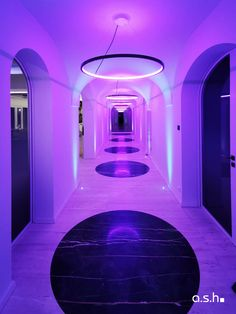 Extraordinary hallway lighting at Villa Son Vida Vida Design, Hallway Lighting, Ash, Villa, Studio, Home, Interior Architecture, House, Studios