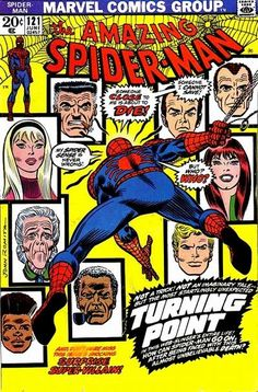 Amazing Spider-Man #121. The death of Gwen Stacy - Want this one and #122