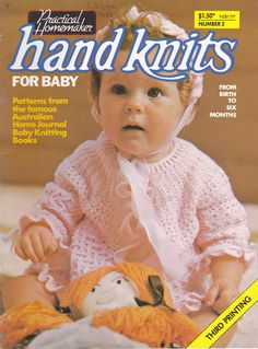Australian Home Journal Hand Knits for Baby No by jennylouvintage