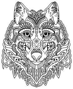 Ausmalbilder Erwachsene Wolf 699 Malvorlage Kostenlos Zum Ausdrucken