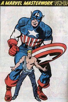 ungoliantschilde: Jack Kirby ~ Marvel Masterwork PinUps