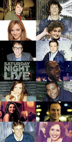 SNL. One of the funniest casts in a while.