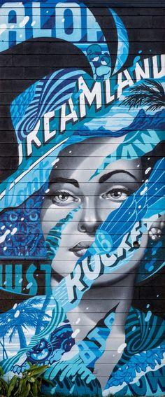 Aloha Dreamland' Street Art