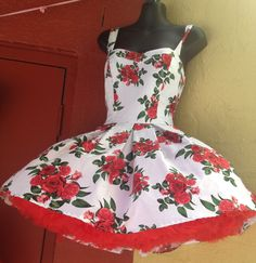 Rockabilly pinup dress at Into Camelot