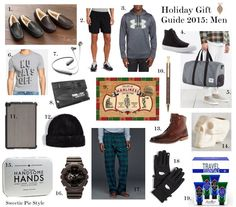 19 great gift ideas for the men in your life! #holidaygiftguide #2015