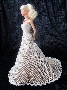 Ravelry: TXCr1cket's Doily to Dress for Barbie