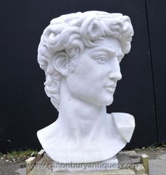 Photo of Hand Carved Italian Marble Bust Apollo Delphi Greek God Myth Love Painting, Painting & Drawing, Greek God Tattoo, God Tattoos, Marble Bust, Italian Marble, Greek Gods, Apollo, Hand Carved