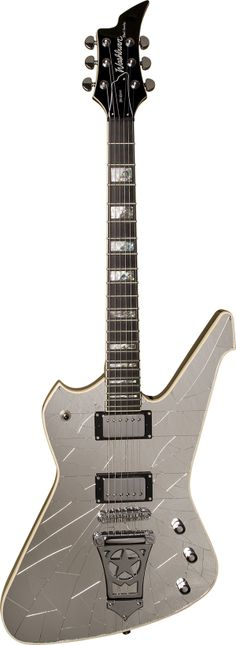 Washburn PS1800CMK Paul Stanley PS1800 Electric Guitar - Cracked Mirror
