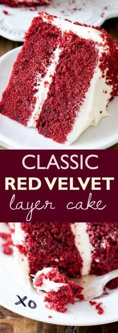 Cake Recipes At Home, Layer Cake Recipes, Dessert Recipes, 2 Layer Cakes, Mini Desserts, Just Desserts, Delicious Desserts, Italian Desserts, Food Cakes