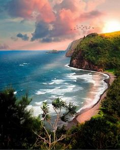 Pololu Beach Kapaau Hawaii by . Hawaii Pictures, Beach Photos, Hawaii Life, Hawaii Usa, Destination Voyage, Travel Tours, Travel List, Ocean Beach, Beautiful Beaches