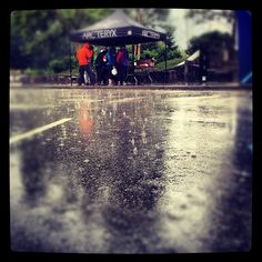 It wouldn't be the Squamish Mountain fest without a little rain (or a lot).