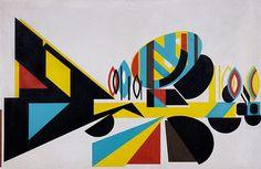 FONTAINEBLEAU, 1956, Óleo sobre platex. 82,5 x 127 cm