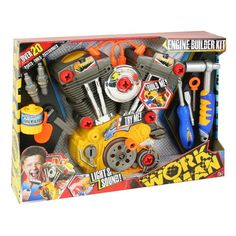 Workman Light and Sound Engine Builder Set, Multicolor