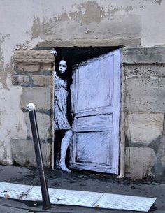 Levalet  Street art in Paris