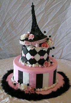 Eiffle Tower cake