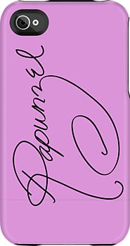 Rapunzel's Autograph iphone case...please tell me they have these for other princesses!