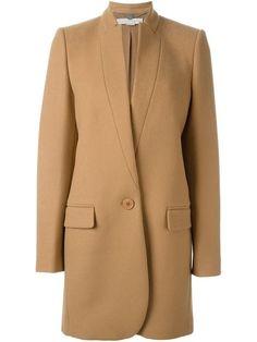 Shoppen Stella McCartney 'Bryce' coat von Gente Roma aus den weltbesten Boutiquen bei farfetch.com/de. In 400 Boutiquen an einer Adresse shoppen.