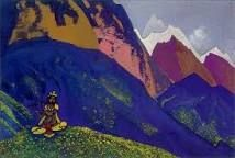 krishna nicholas roerich - Google Search Nicholas Roerich, Hinduism, Krishna, Illustration Art, Illustrations, Painting, Spiritual, Google Search, Twitter