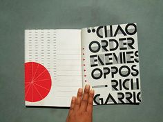 #typography #typeface #design #layout #book
