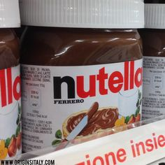 Happy World Nutella Day is February 5th! ORIGINS ITALY http://www.originsitaly.com/world-nutella-day-2014/ #originsitaly #Italy #italia #italie #rome #florence #venice #nutelladay #food #nutella #today #celebrate #cibo #hazelnut #nocciola #palermo #naples #napoli #genealogy #ancestry #genealogia #italy365 #italianamerican #italian