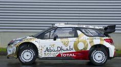 Citroen DS3 WRC 2015 rally car livery