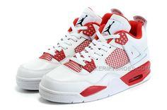 "http://www.nikeriftshoes.com/nike-air-jordan-4-retro-alternate-89-whiteredblack.html NIKE AIR JORDAN 4 RETRO ""ALTERNATE 89"" WHITE/RED-BLACK Only $95.00 , Free Shipping!"