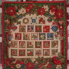 #patchwork #quilt Christmas countdown