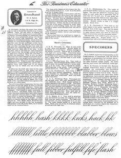 Engrossers Script by W.A. Baird.