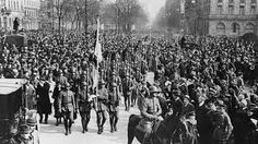 Kapp Putsch 1920 - led by Wolfgang Kapp/Freirkorps - it failed because the people of Berlin striked
