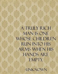 I absolutely love this! You cannot buy your children, you just need to shower them with love!! TM