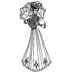 Amazon Drygoods - Street Costume 1904, $28.95 (http://www.amazondrygoods.com/products/street-costume-1904.html)