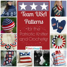 Go USA! Team USA Patterns for the Patriotic Knitter and Crocheter