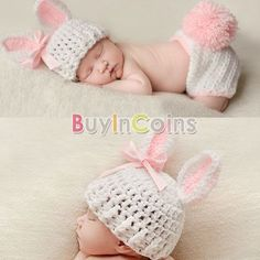 Baby Crochet Costume Photo Photography $6.99