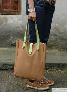 #SALE #FOKSFORM #Tote #Bag 03 #Minimal #leather #tote #bag