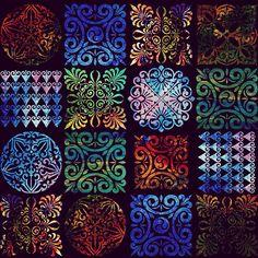 Pattern tile mosaic