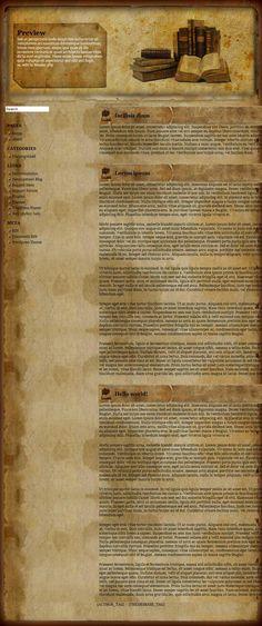 Old+book+-+Free+WordPress+Theme