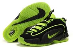 Nike Air Max Penny 1 Highlighter Pack Black Electric Green, cheap Nike Air Penny If you want to look Nike Air Max Penny 1 Highlighter Pack Black Electric Green, you can view the Nike Air Penny 1 ca Sneakers N Stuff, Sneakers For Sale, Nike Sneakers, Nike Air Jordan 11, Nike Air Max, Jordan Shoes, Store Nike, Green Basketball Shoes, Sports Shoes