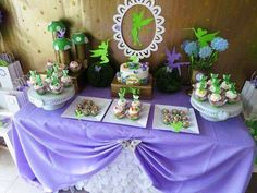 Hostess with the Mostess® - Tinkerbell Inspired Birthday Party Tinkerbell Fairies, Tinkerbell Party, Fairy Birthday Party, 2nd Birthday Parties, Birthday Ideas, Themed Parties, Fairy Baby Showers, Fairy Tea Parties, Party Decoration