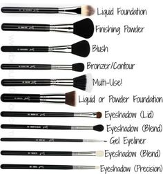 Different types of makeup brushes and their uses  a69e5ff72533