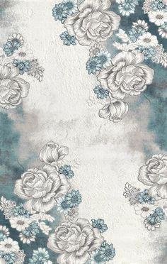 Padişah Klasik K527-063  çiçekli halı modelleri ve fiyatları