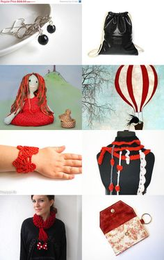 Red and black by Natasha J on Etsy--Pinned with TreasuryPin.com