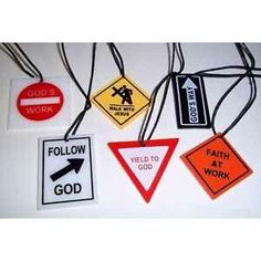 Christian road signs