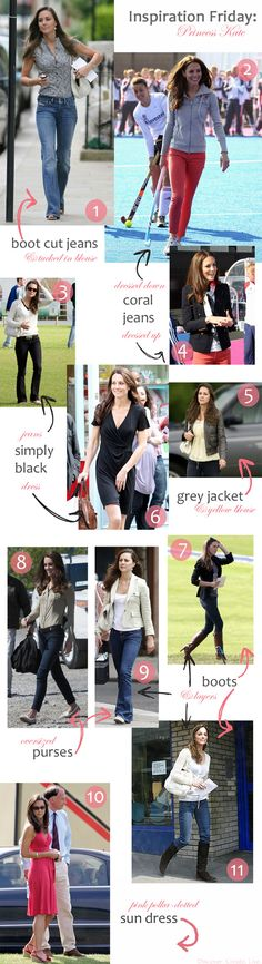 Kate Middleton style inspiration. She's so gorgeous and her clothes are beautiful!