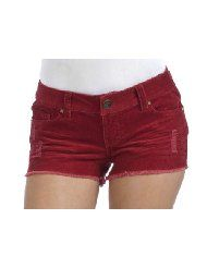 Wallflower 5 Pocket Colored 14 Wale Corduroy Short Shorts