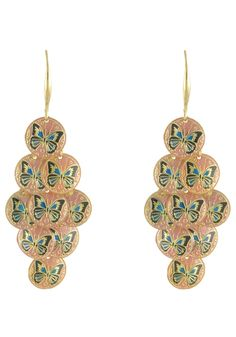 LIZAS Womens Earrings gold #planetsports
