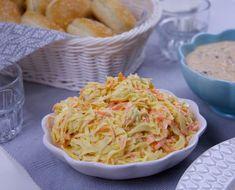 Grill Tillbehצr I Swedish Recipes, Turkish Recipes, Ethnic Recipes, Low Carb Recipes, Healthy Recipes, Healthy Food, Coleslaw, Bulgur Salad, Danish Food