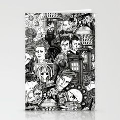 The Untempered Schism Stationery Cards on society6 ~ also fabric @spoonflower http://www.spoonflower.com/designs/1159315